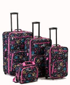 Pierre Cardin Signature Spinner 4 Piece Luggage Set | THINGS TO ...