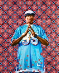 Kehinde Wiley, Kofi Graham Study I, 2011  Oil on paper