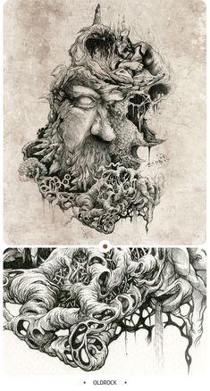 INKSTINCTIVE II by DZO Olivier, via Behance