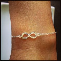Valentines Day SALE Sterling Silver Infinity by TheArtsyNomad, $16.00