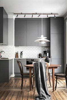 Most of the Scandinavian kitchen designs are dirty bearing in mind white color a. Most of the Scandinavian kitchen designs are dirty bearing in mind white color and gleaming wood. Best Kitchen Designs, Modern Kitchen Design, Interior Design Kitchen, Kitchen Decor, Kitchen Ideas, Kitchen Layout, Kitchen Inspiration, Rustic Kitchen, Kitchen Hacks