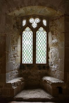 Castle Window - Battle Abbey by *NickiStock on deviantART