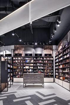 Interior design, retail design, pop up store, retail experience, retail future, beauty store, perfumery, rack, Mußler Beauty by Notino by DIA Dittel Architekten