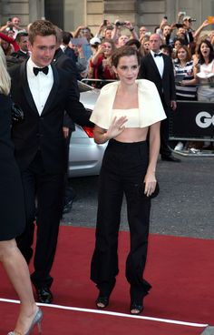 Emma Watson Photos: Celebs at the GQ Men of the Year Awards