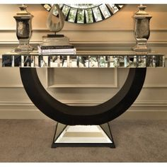 Quartz Mirrored Console Table £615.12