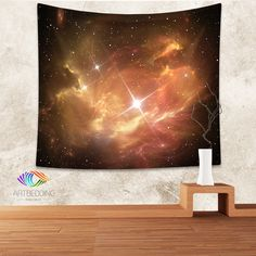 Galaxy Tapestry, Space star nebula wall tapestry, Galaxy tapestry wall hanging, Nebular complex illustration galaxy wall tapestries, Galaxy home decor, Space wall art print, Space wall hanging, Space nebula galaxy wall art