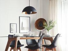Redirecting to Beliani (UK) Ltd. Beliani, Black Pendant Lamp, Home And Living, Furniture, Home Living Room, Metal Pendant Lamps, Bedroom Decor, Office Desk, Room Decor