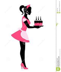 baking silhouette - Google Search