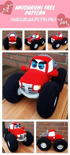 We continue to provide you with the latest recipes related to Amigurumi. Amigurumi classic car free crochet pattern is waiting for you. Crochet Car, Crochet Animal Amigurumi, Crochet For Boys, Crochet Baby Hats, Crochet Crafts, Free Crochet, Crochet Dolls Free Patterns, Crochet Headband Pattern, Amigurumi Patterns