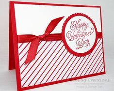 25 Unique and Beautiful Valentine Cards - decorisme Homemade Valentines Day Cards, Valentine Love Cards, Homemade Cards, Valentine Nails, Valentine Ideas, Anniversary Cards, Stampin Up Cards, Holiday Cards, Christmas Cards