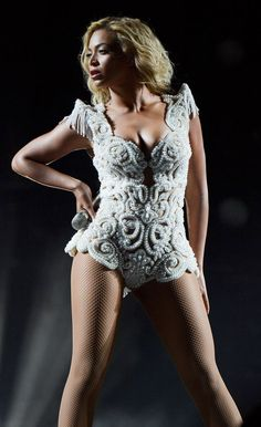 Beyonce: sexy fairy edition at a Philadelphia concert.