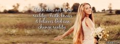 Faith Does Not Deny Reality