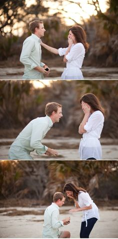 I want someone to be hiding to take a picture when I get proposed to... What a precious moment to capture