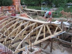 Building A Cross Barrel Vaulted Ceiling Root Cellar In