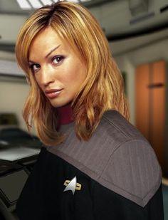 Jolene Blalock as T'Pol in Star Trek; Star Trek Starships, Star Trek Enterprise, Star Trek Voyager, Star Trek Rpg, Star Trek Ships, Star Wars, Divas, Star Trek Posters, Jolene Blalock