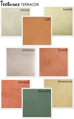 Como usar as texturas da Terracor nas paredes internas ou fachadas.