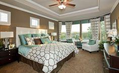 master bedroom love the natural lighting!