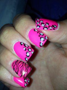 I like the zebra print...