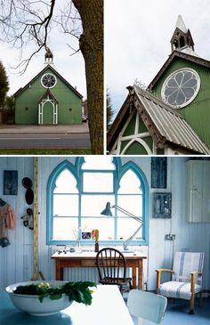 Tin Chapel: Victorian Conversion