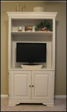 Maybe I'll redo my armoire like this.... I never close the doors anyway.