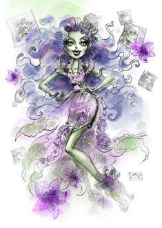 Gloom & Bloom Amanita Nightshade by Darko Djordjevic