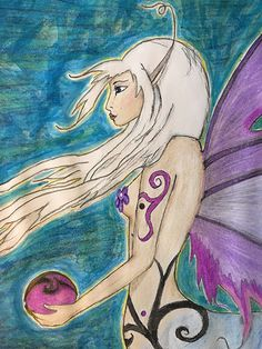 A so called Centerfly, Centaur-Butterfly mix species of the science-fantasy trilogy Crystal Transfer / Eine sogenannte Centerfly, Zentaur-Schmetterlings-Mix Spezies aus der Science-Fantasy Trilogie Crystal Transfer (drawing by the author, Su Halcón) Centaur, Princess Zelda, Disney Princess, Sci Fi Fantasy, Disney Characters, Fictional Characters, Butterfly, Author, Science