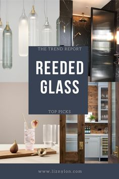 Easily the biggest home trend of 2020, Reeded Glass is a style maker. Use a reeded glass shower screen to add mystery, reeded glass kitchen cabinet hide the mess yet bring light, reeded glass cabinets add sophistication to any room. Read all about the hot trend here. Reeded Glass, Mim Design, Glass Kitchen Cabinets, Arched Doors, Shower Screen, Home Trends, Steel Wall, Glass Shower, Big Houses