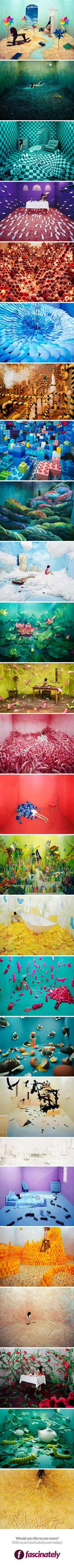 From starving artist to thriving artist, Jee Young Lee, makes magic with small spaces and ZERO photoshop!