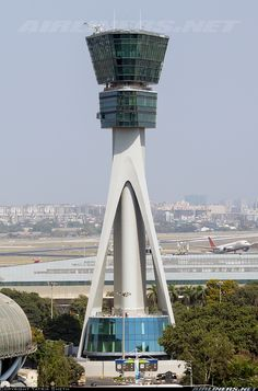 Did you know Mumbai is the home to the Tallest ATC tower in the country? Check out the unknown facts about Airport Control Tower, Airport Design, Aviation World, Air Traffic Control, Air India, Tower Building, Tower Design, Aircraft Pictures, International Airport