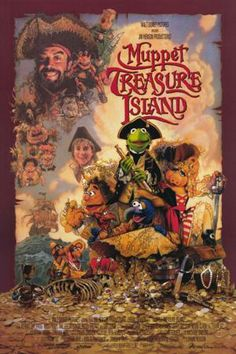 Muppet Treasure by Brian Henson, David Lane. With Tim Curry, Billy Connolly, Jennifer Saunders, Kevin Bishop. The Muppets' twist on the classic tale. Jim Henson, Billy Connolly, Black Sabbath, Hd Movies, Disney Movies, Cult Movies, Netflix Movies, Kermit, Poster