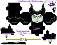 Disney Maleficent Cubeecraft