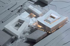 Town Hall and Health Center / Henning Larsen Architects