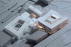 Ayuntamiento y Centro de Salud de Egedal / Henning Larsen Architects 1346264247-egedal-model – Plataforma Arquitectura