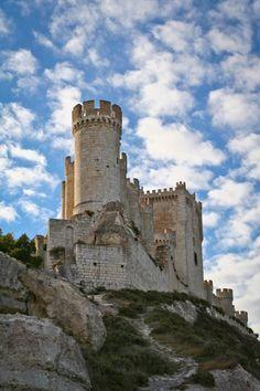 Castillo de peñafiel. Valladolid, España