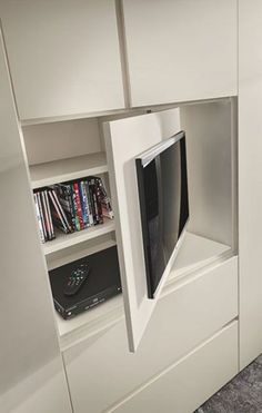 Schlafzimmer/bedroom Ideas Bedroom Storage Cupboard Cabinets For 2019 How Much Activity Bedroom Storage For Small Rooms, Small Room Bedroom, Closet Bedroom, Trendy Bedroom, Bedroom Decor, Bedroom Tv, Ikea Closet, Closet Space, Bedroom Ideas