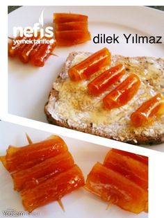 Sağlık Orange Peel Jam (Flavored) Album Design Services Providing professional services for professionals, our company provides high quali. Snack Recipes, Dessert Recipes, Snacks, Tasty, Yummy Food, Vegetable Drinks, Turkish Recipes, Confectionery, Healthy Eating Tips