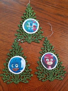 PJ Masks Personalized Christmas Ornament by ...