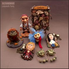 LABYRINTH clay collection ONLINE! by buzhandmade.deviantart.com on @deviantART
