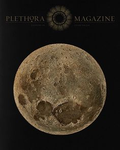 Plethora Magazine Issue No. 5 - Aurum Luna - explores the esoteric nature of mankind's lasting lunar allure and the distinctive sensibilities of lunacy in all their shapes and forms  Get your copy in-store or at Stormfashion.dk #plethoramagazine #stormcopenhagen #stormliterature