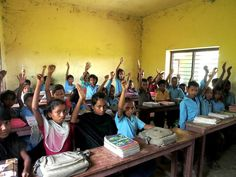 """Mani Karmacharya on Twitter: """"Children are honest. Students raised hands when asked, how many do not have toilet at home.#wateraid #Sanitation http://t.co/LeVhyzi8tr"""""""