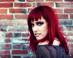 bold red hair - Google Search