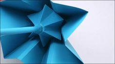 折り紙のノウハウを応用、骨を持たずポリゴンのようなデザインの傘「Sa」 - GIGAZINE