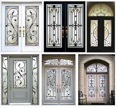 Wrought iron doors make a bold and incredible statement that speaks volumes. Choose YOUR Wrought Iron Door Pattern!