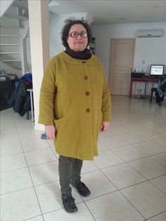 It take time to finish this coat. Now it ok and i wear it still winter is there