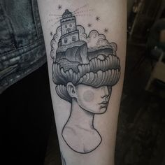 Never worked on my birthday before but I really enjoyed tattooing this Iceland memory on Gabi!