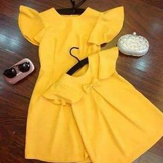 s Clothing Children' Mother Daughter Fashion, Mom Daughter, Baby Girl Dresses, Baby Dress, Family Outfits, Kids Outfits, African Dresses For Kids, Frocks For Girls, Matching Outfits