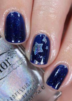Starry Night Sky Mani