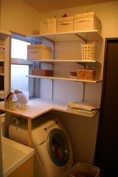 洗濯機上 窓 収納 - Google 検索