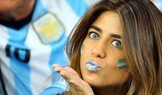 Las bellas del Mundial 2014
