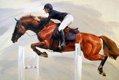 "Katy Haly; Painting, ""Momentum"" #art"